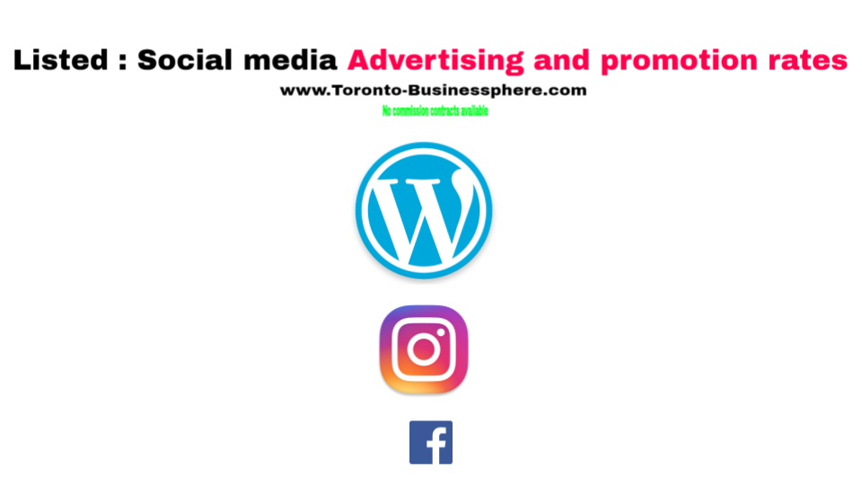 Listed social media advertising and promotion rates.png