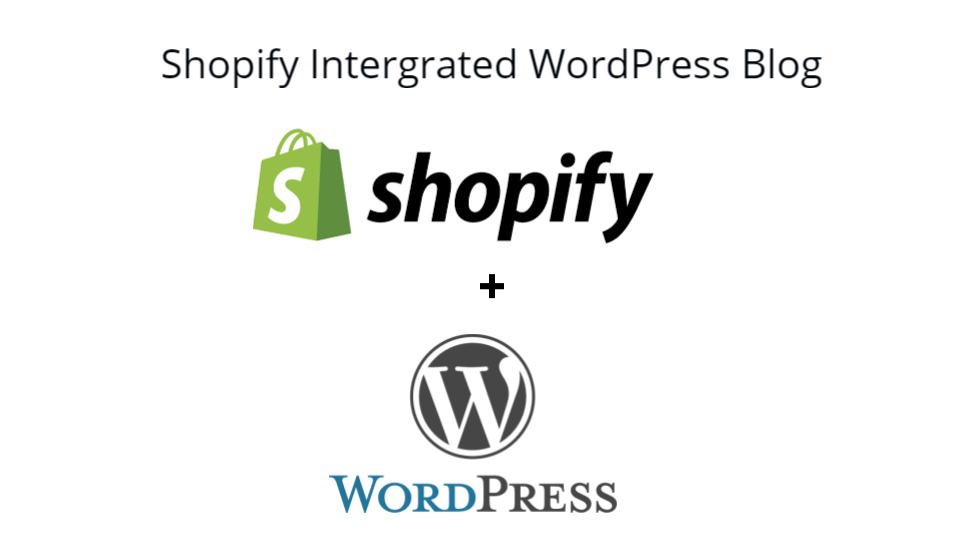 Shopify intergrated blog