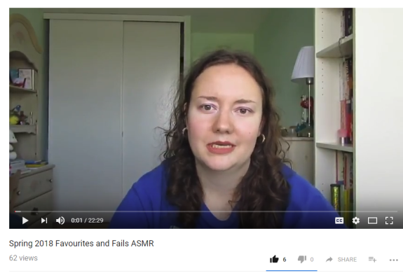 Spring 2018 favourites and fails ASMR