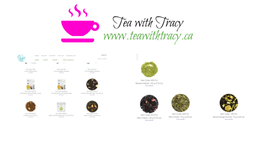 Tea with tracy.ca