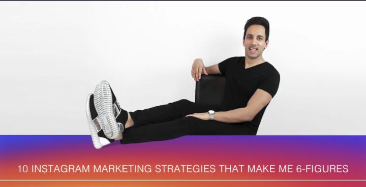 Nik Swami 10 Instagram Marketing Strategies that Make me 6 figures published on Udemy