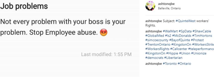 Job problems post