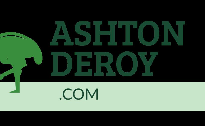Why my website logo has anOstrich