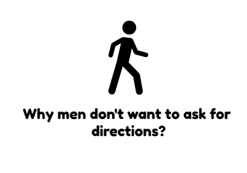 Men and directions