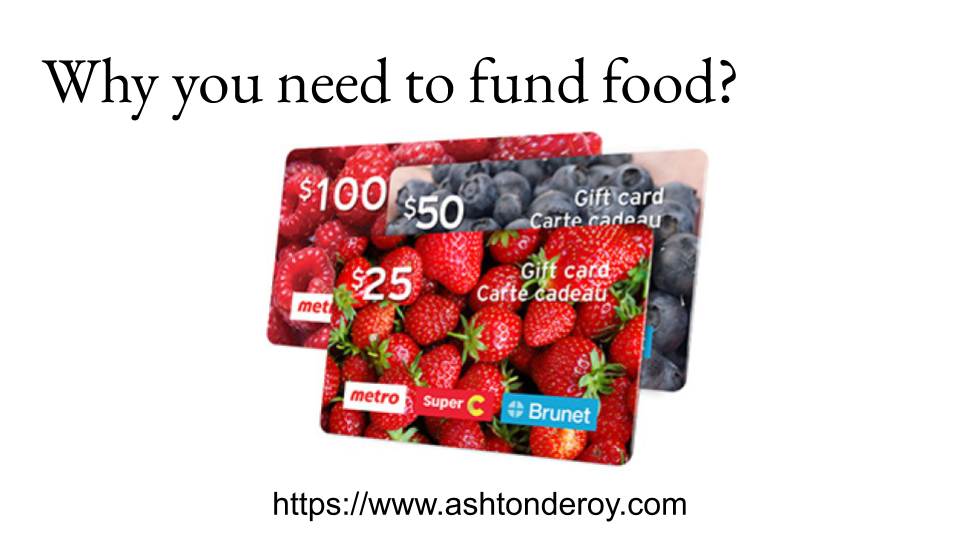 Why you need to fund food_
