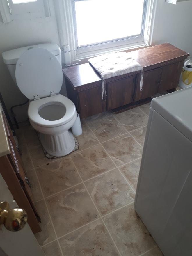 Jamie Macari Bathroom issue