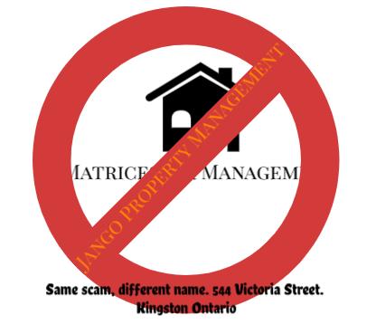 Matricestar Management, 544 Victoria St. Kingston Ontario