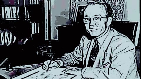 Tommy Douglas cartoon