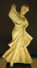 Veiled dancer