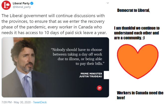 Workers need the love