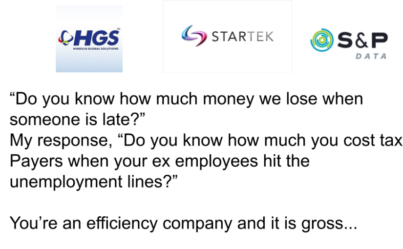 How much efficiency companies cost us?