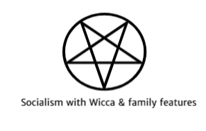 Socialist with Wicca & family features