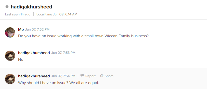 Wiccan Family Business